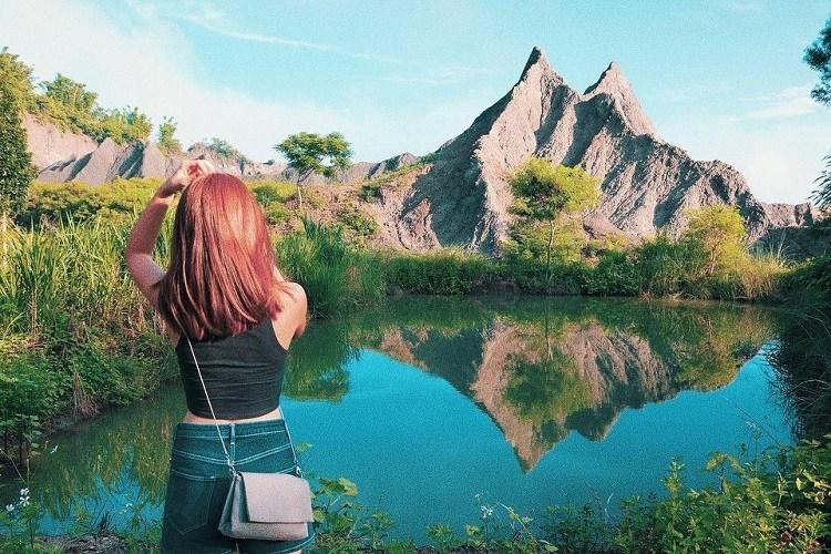 台南春節旅遊南部走春景點草山月世界