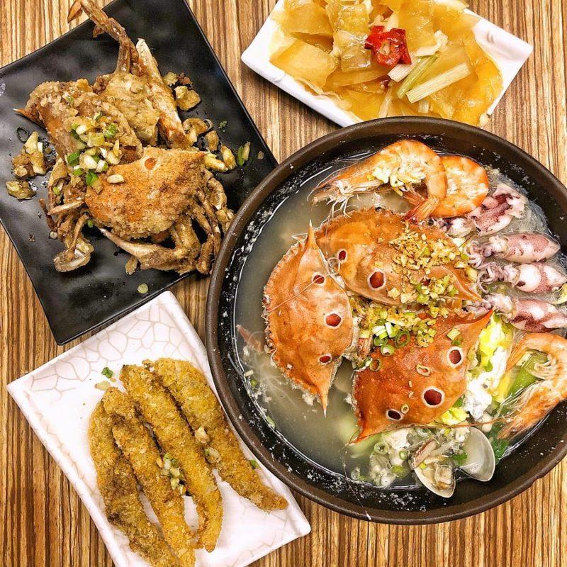金山大碗螃蟹,金山美食
