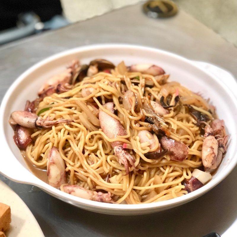柳媽媽海鮮粥麵館,金山美食