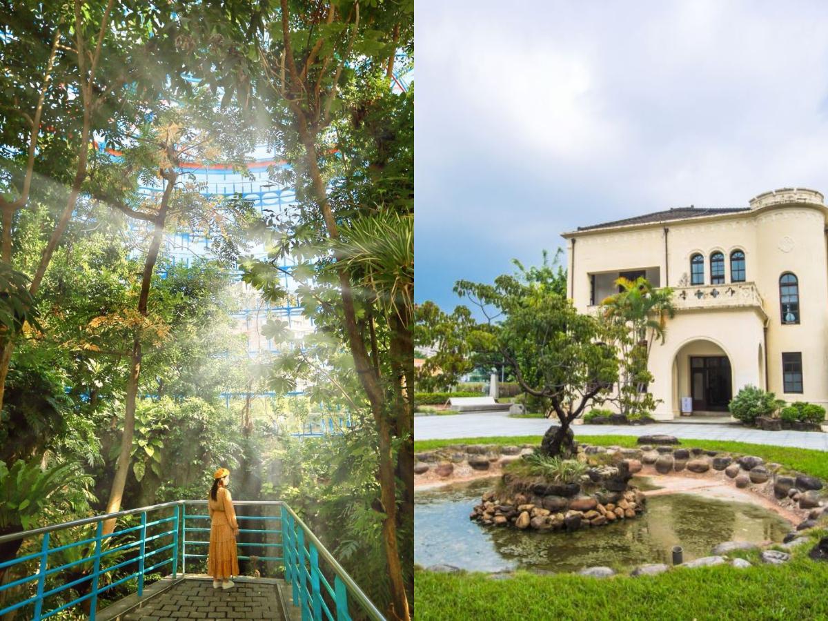 【宅在台中|北區】北區歷史人文景點:植物園、韓式相館必去