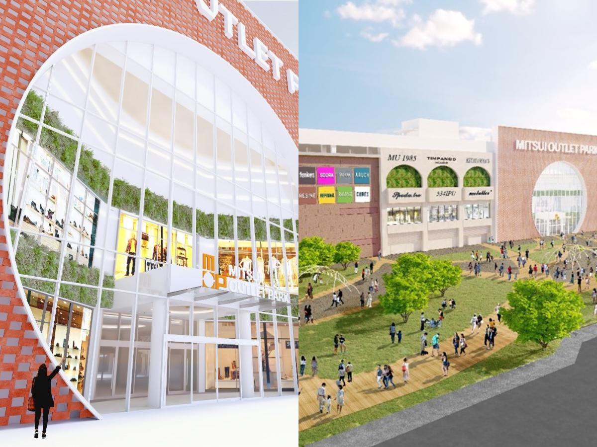 台南三井Outlet年底開幕!打造古都紅磚外牆、室內綠色隧道