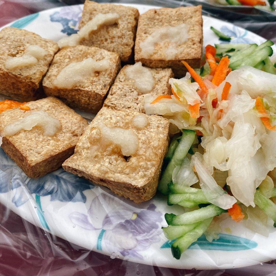 蘭嶼美食東清夜市臭豆腐