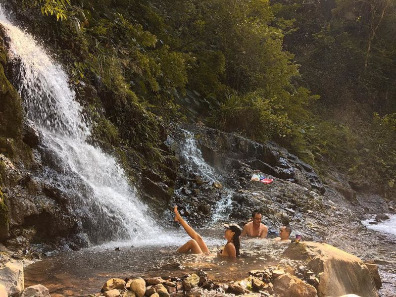 桃園嘎拉賀野溪溫泉